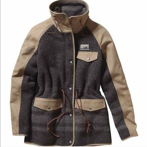 SOLD RARE Patagonia Reclaimed Wool Parka